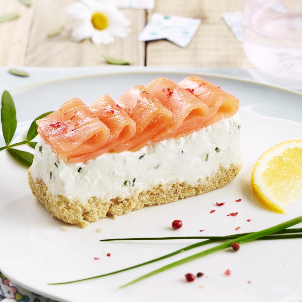 Cheesecake au saumon fumé | Delpeyrat