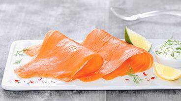 Tanches saumon fumé
