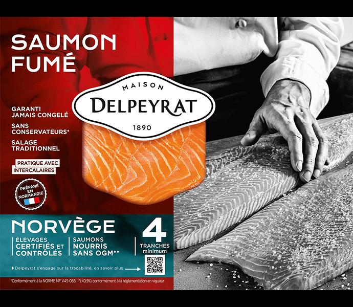 saumon fumé norvège Delpeyrat
