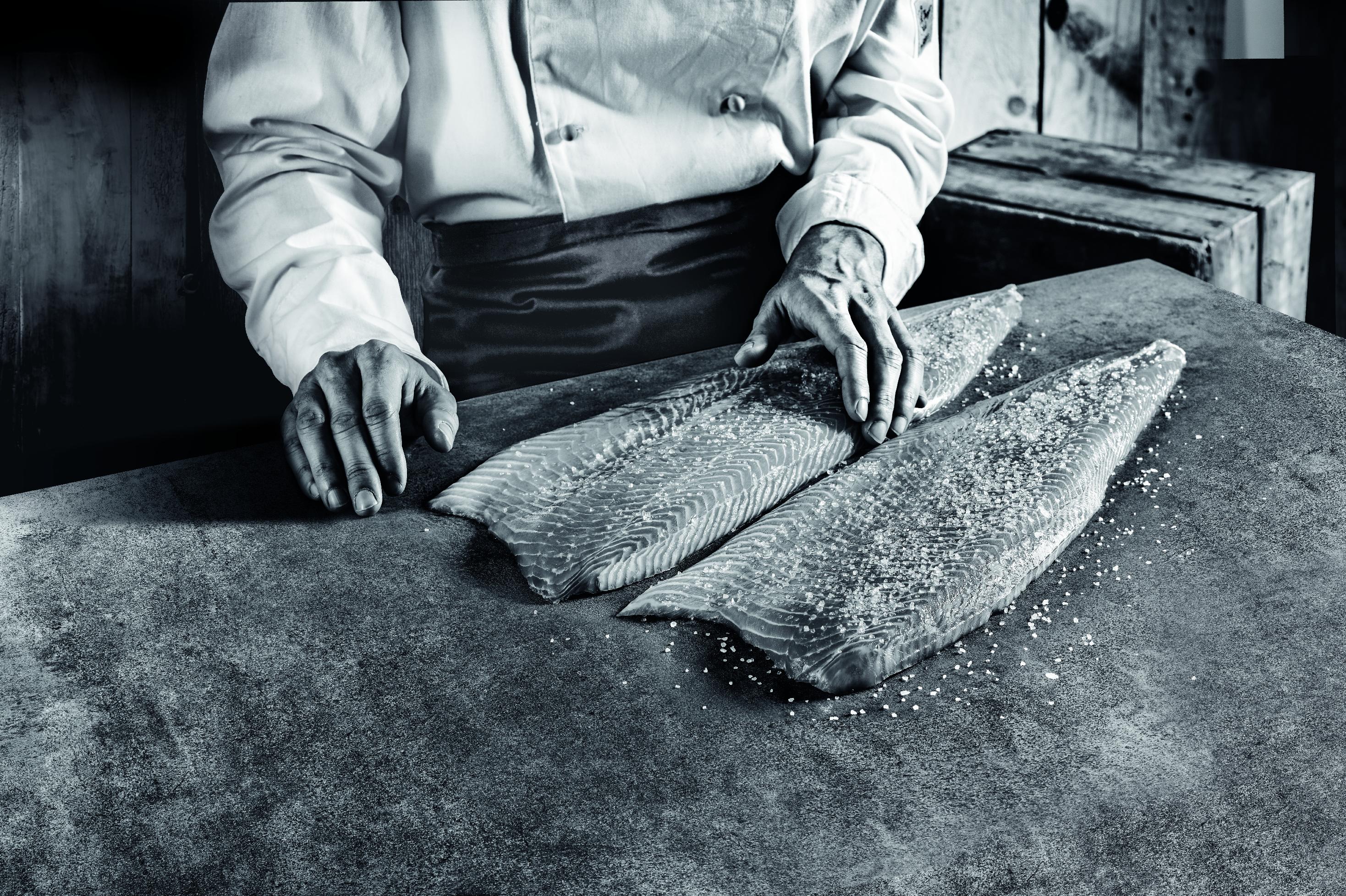 geste saumon fumé delpeyrat