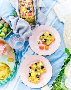 recette cake olive feta