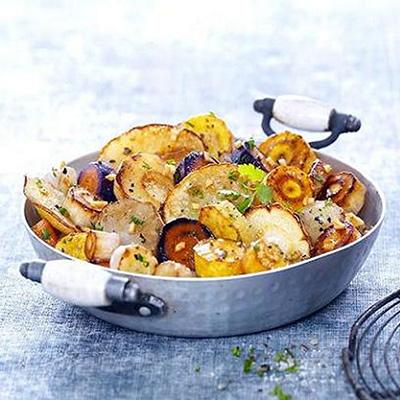 recette legumes oubliés à la sarladaise
