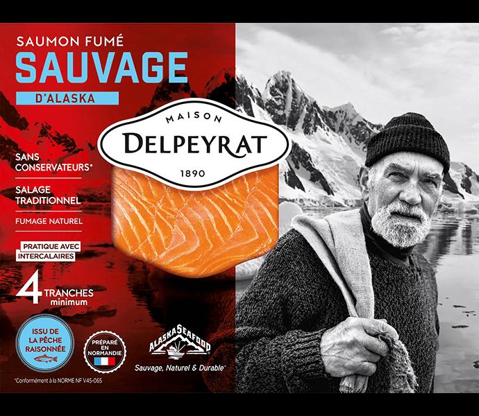 saumon fumé sauvage alaska delpeyrat