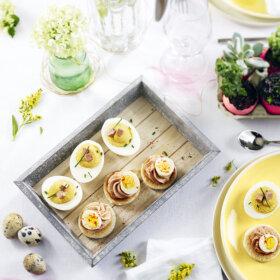 recette apéritif de pâques au foie gras