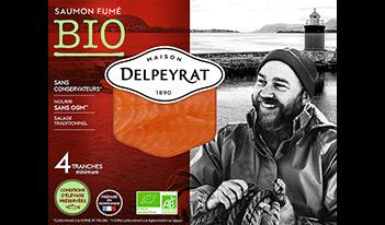 saumon fumé bio delpeyrat