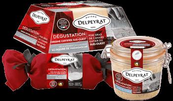foie gras gamme dégustation delpeyrat