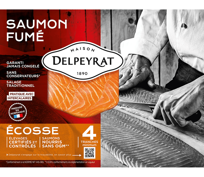 saumon fumé écosse delpeyrat
