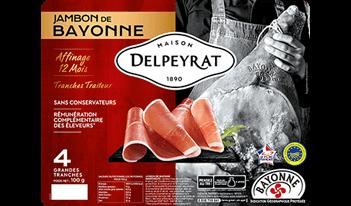 jambon de bayonne grand affinage delpeyrat