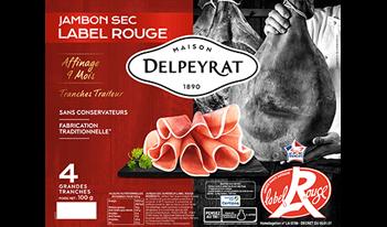 jambon sec label rouge delpeyrat