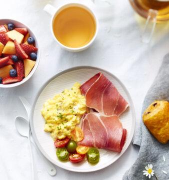 recette brunch d'été au jambon