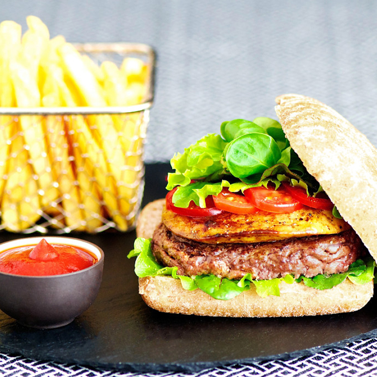 recette burger de luxe
