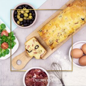 recette cake au jambon de bayonne