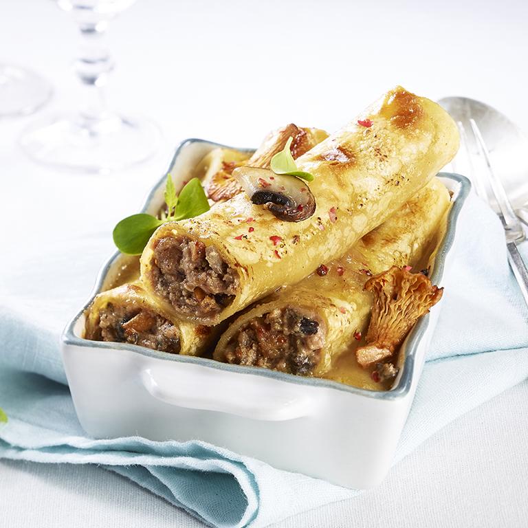 recette cannellonis au foie gras