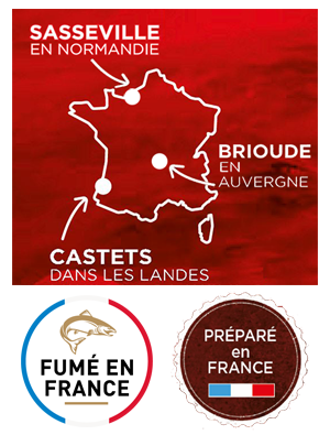 carte sites de production saumon