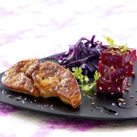 recette escalopes foie gras poêlées