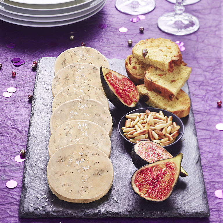 recette plateau de foie gras et figues