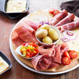 recette plateau jambon raclette
