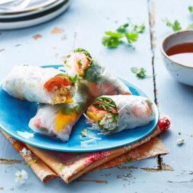 recette rouleau de printemps mangue